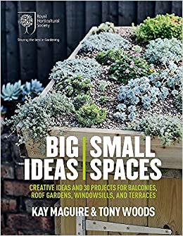 RHS Big Ideas Small Spaces Creative ideas and 30 projects for