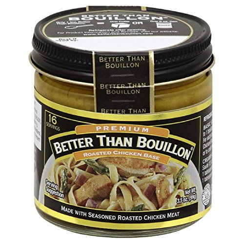 Chicken Bouillon No Msg - Better Than Bouillon Base, Chicken, 3.5 Ounce