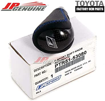 Shift Knob Replacement for Lexus F-Sport IS250 IS350 ISC 2006-2013 OE# PTR51-53080
