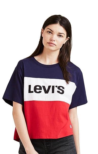 22295df8d087b Camiseta Levis Colorblock Jv M Multicolor  Amazon.es  Ropa y accesorios
