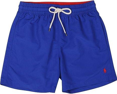 TALLA XXL. Polo Ralph Lauren Pantalones Cortos de natación Hombres, Traje de baño, Colores Lisos con Bordado con Logo