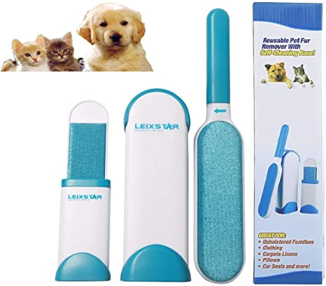 cepillo suave para perros y gatos cepillo de pl/ástico para mascotas de pelo largo para perros y gatos Wuudi Cepillo para eliminar el pelo de mascotas cepillo de cuidado universal cepillo activo