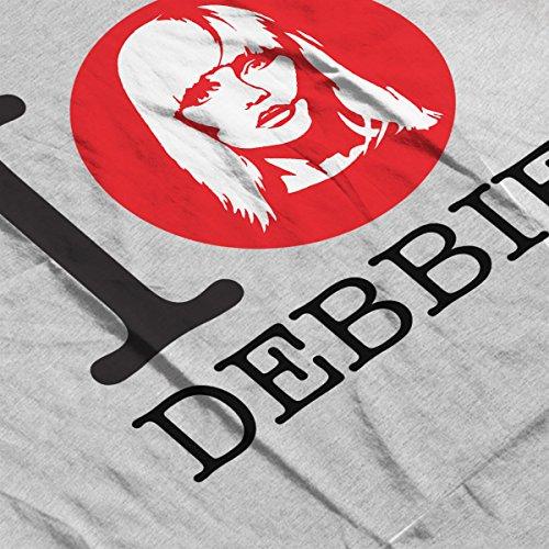 I Heart Debbie Harry Women's Sweatshirt Heather Grey