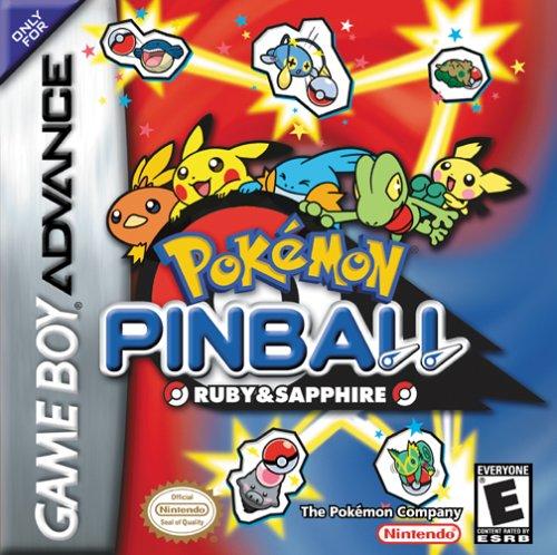 Pokemon Pinball Sapphire Game Boy Advance
