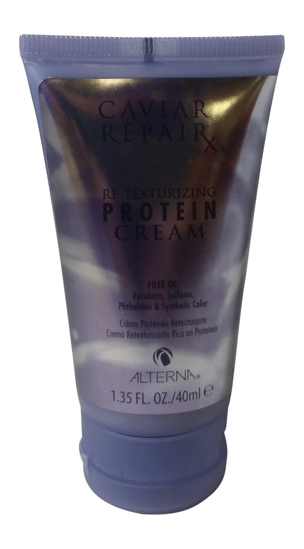 Alterna Caviar Repair Travel Trio: Instant Recovery Shampoo & Conditioner & Re-Texturizing Protein Cream 1.35 oz each by Alterna (Image #2)