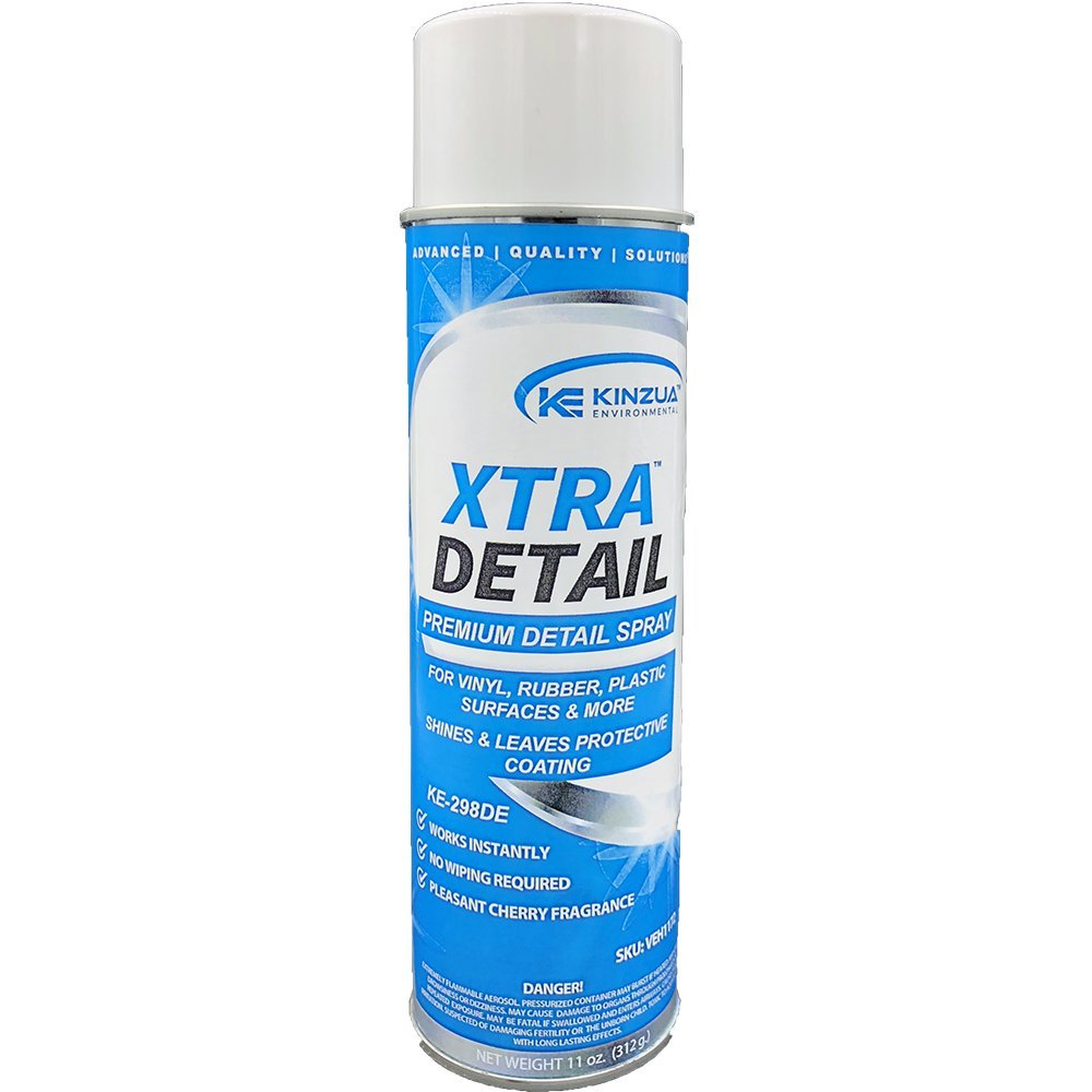 XtraDetail: Clear Coat Satin Detail Spray [Case of 12 (13 oz) Cans]