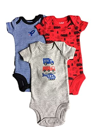f4ff8b5b9 Image Unavailable. Image not available for. Color: Carters Preemie Baby Boy  Bodysuits ...