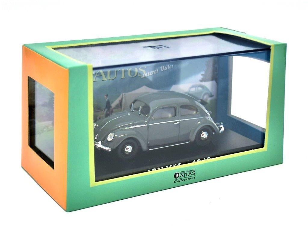 Atlas VW Kä fer 1948 Grise Collection Les Voitures de Mon pè re aux Editions 1/43