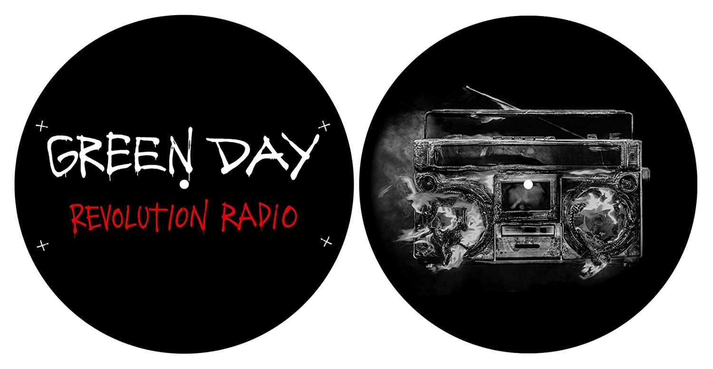 Green Day 'Revolution Radio' Turntable Slipmat Set Razamataz