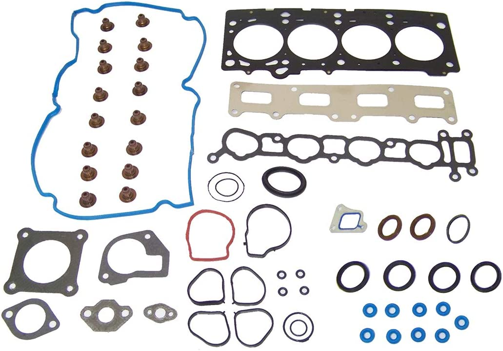 DNJ HGS165 MLS Head Gasket Set for 2002-2007 / Chrysler, Dodge/Caravan, Sebring, Stratus, Voyager / 2.4L / DOHC / L4 / 16V / 148cid /EDZ