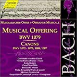 J. S. Bach Musical Offering Canons Other Classic