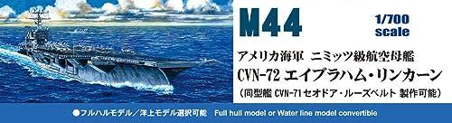 ピットロード 1/700 スカイウェーブシリーズ アメリカ海軍空母 CVN-72 エイブラハム・リンカーン プラモデル M44