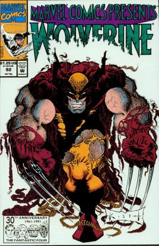 Marvel Comics Presents No. 92: Wolverine, Ghost Rider, Cable, The Beast and Northstar - Northstar Marvel Comics