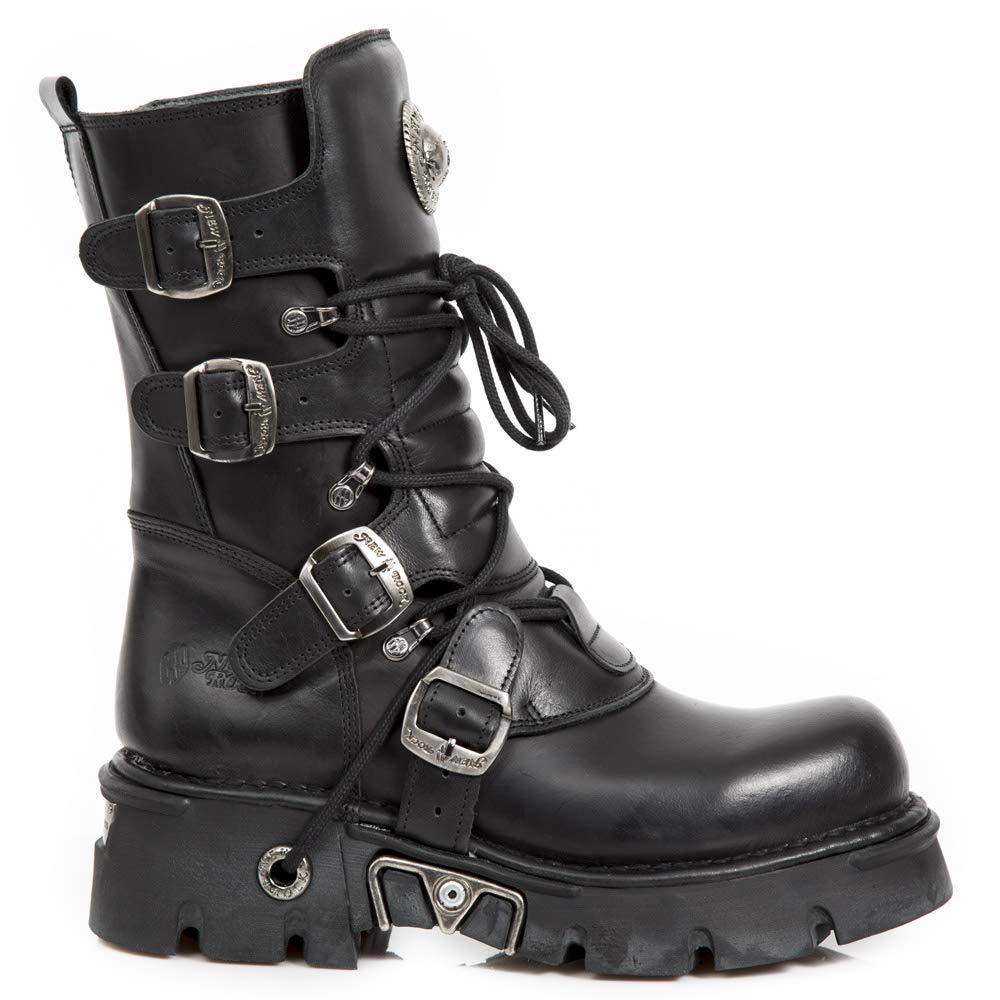 - New Rock NR M.373 S29 Black - Boots, Metallic, Unisex