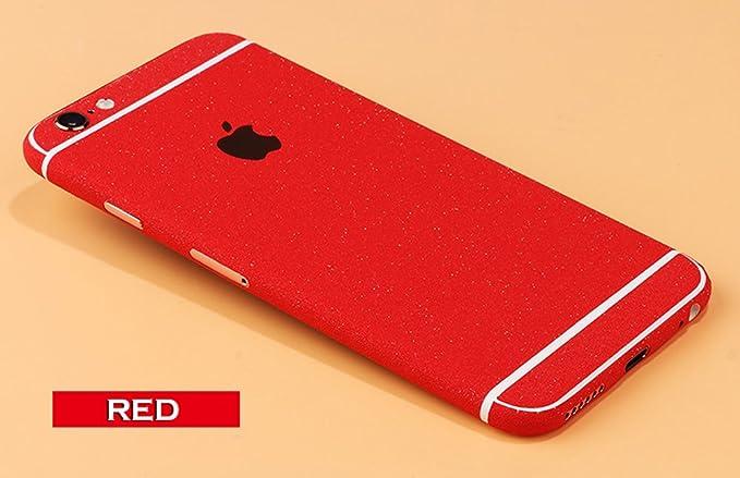 Iphone 6 Plus Red >> Amazon Com Toeoe Full Body Sticker Iphone 6 Plus 6s Plus Matte