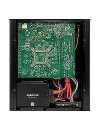 antsle One Pro   Servidor de nube privada   100 + Servidores virtuales & 100  Silent (16GB 2 X 500GB SSD), Negro