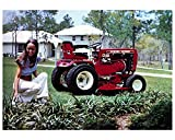 1974 Wheel Horse C160 Automatic Lawn & Garden Tractor Factory Photo