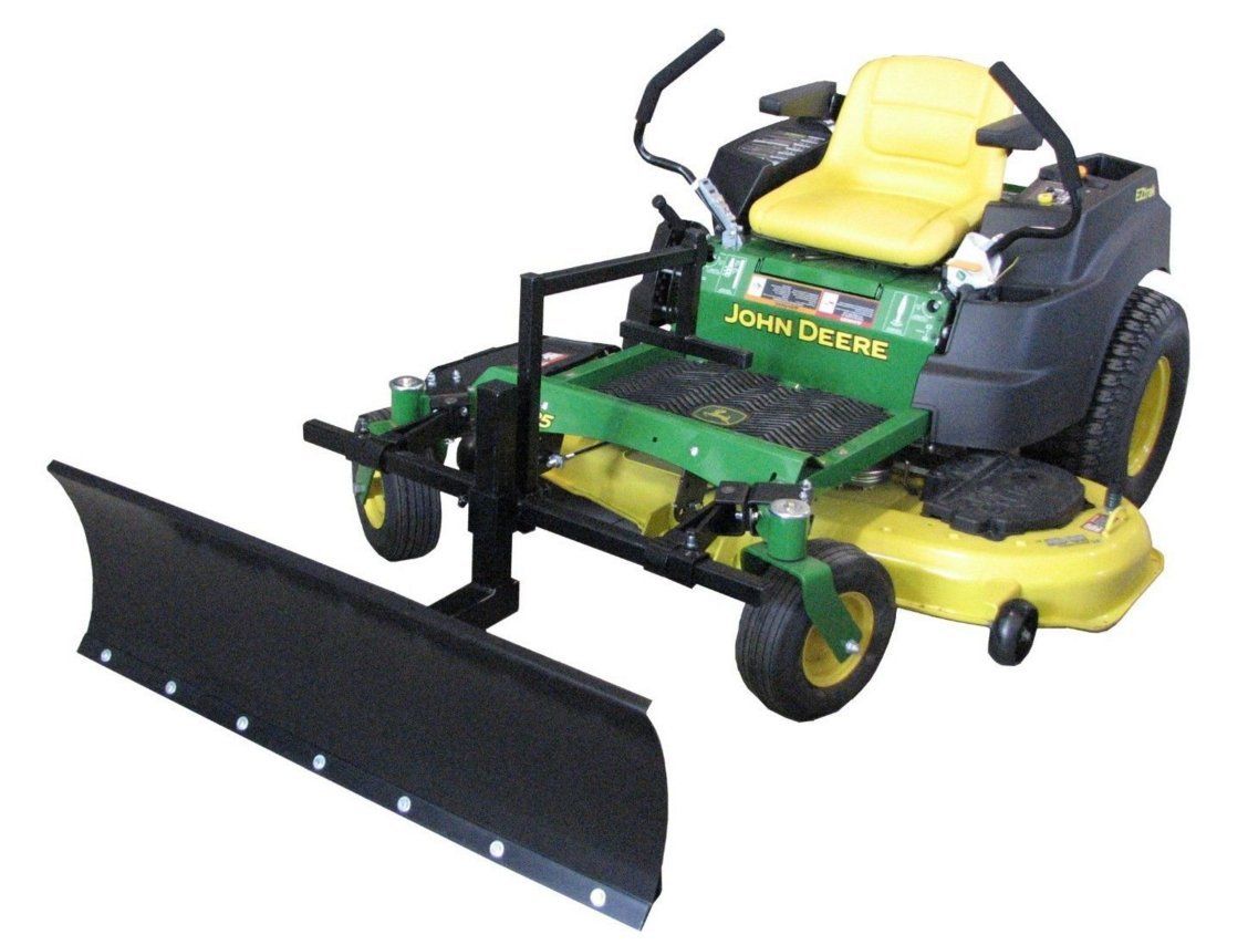 Country Manufacturing Zero Turn Snowplow 4 ft Wide