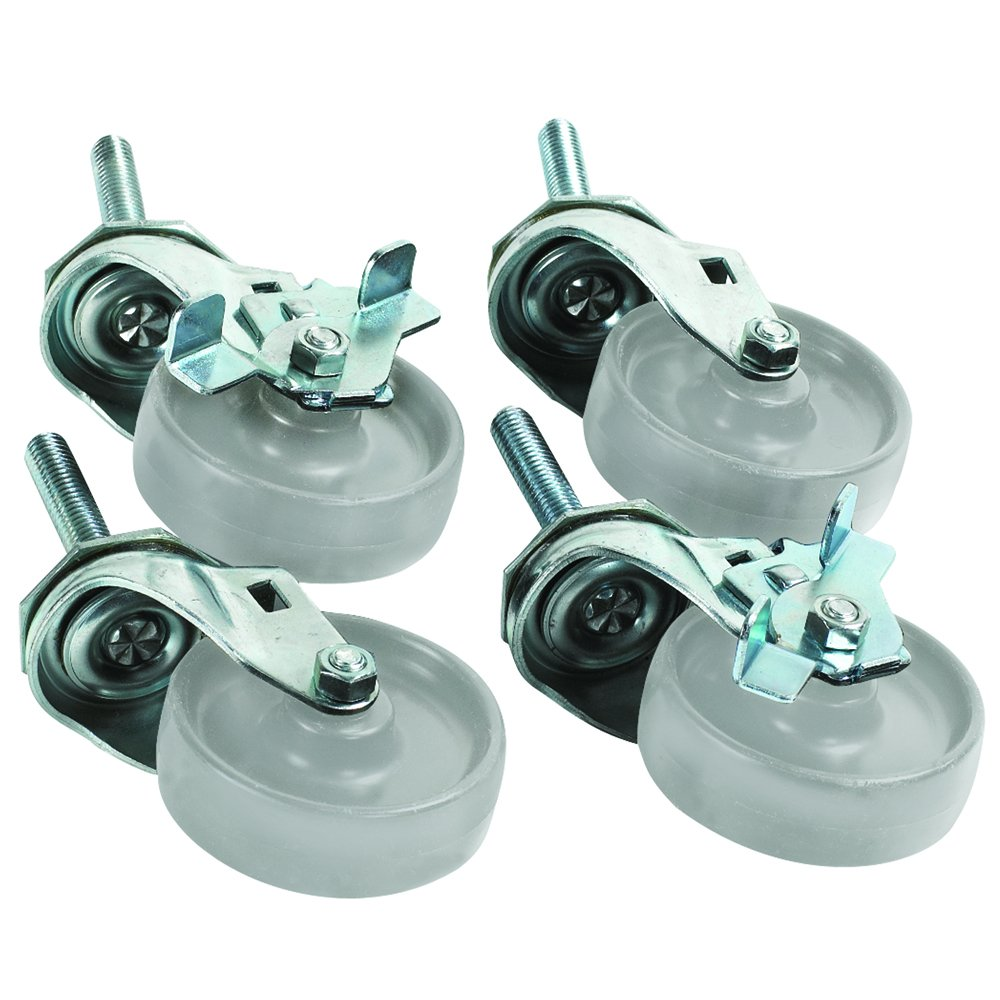 Aviditi WS1005 Caster Set for Roll Storage System (Pack of 4)