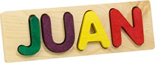 product image for Name Puzzle, Bright Colors - 4 Letters - Made in USA