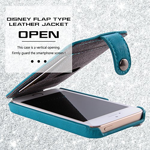 Disney Flap Type Leather Style iPhone 5 Case (Donald)