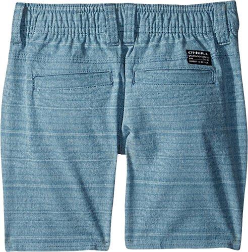 O'Neill Little Boys' Locked Quick Dry Hybrid Boardshort, Stripe Deep Teal, 2T by O'Neill (Image #1)