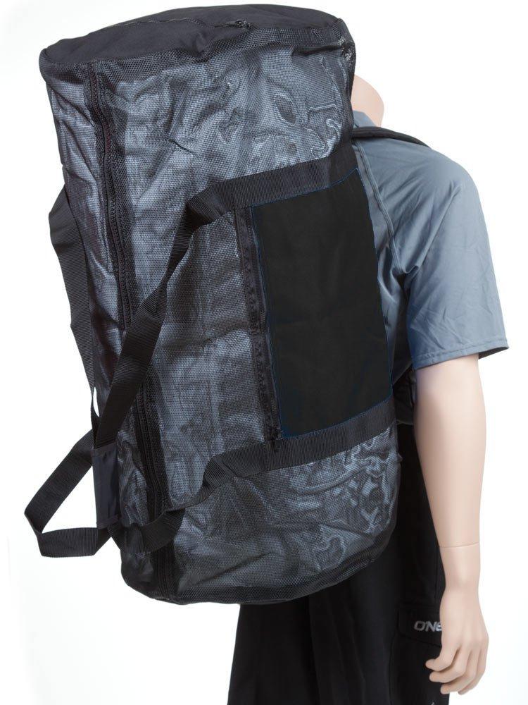 Rock N Sports Convertible mesh backpack/duffel bag Black