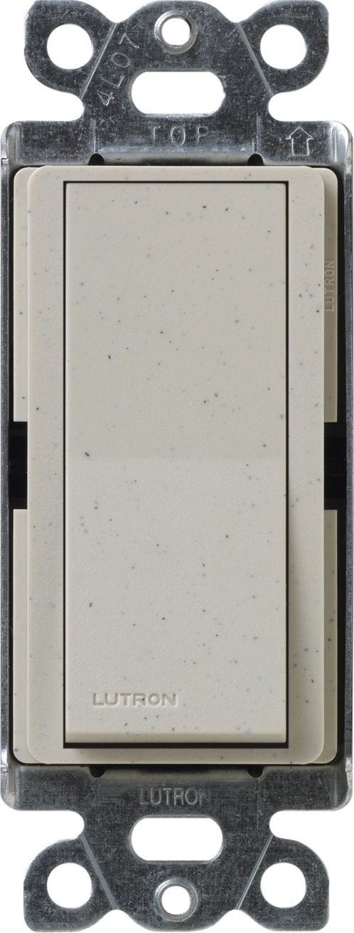 Lutron SC-4PS-ST Diva Satin Colors 15-Amp 4-Way Switch, Stone