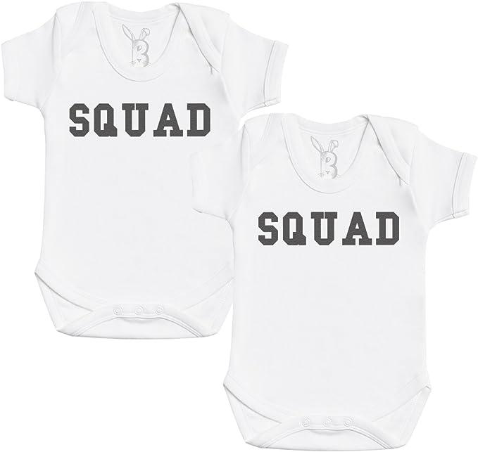 Body para beb/é ni/ña Body para beb/é ni/ño Zarlivia Clothing Twin Troopers Regalo para Gemelo del beb/é