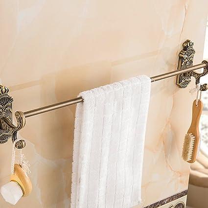 Accesorios de baño Yomiokla - Toalla de metal para cocina, inodoro, balcón y bañoPalanca