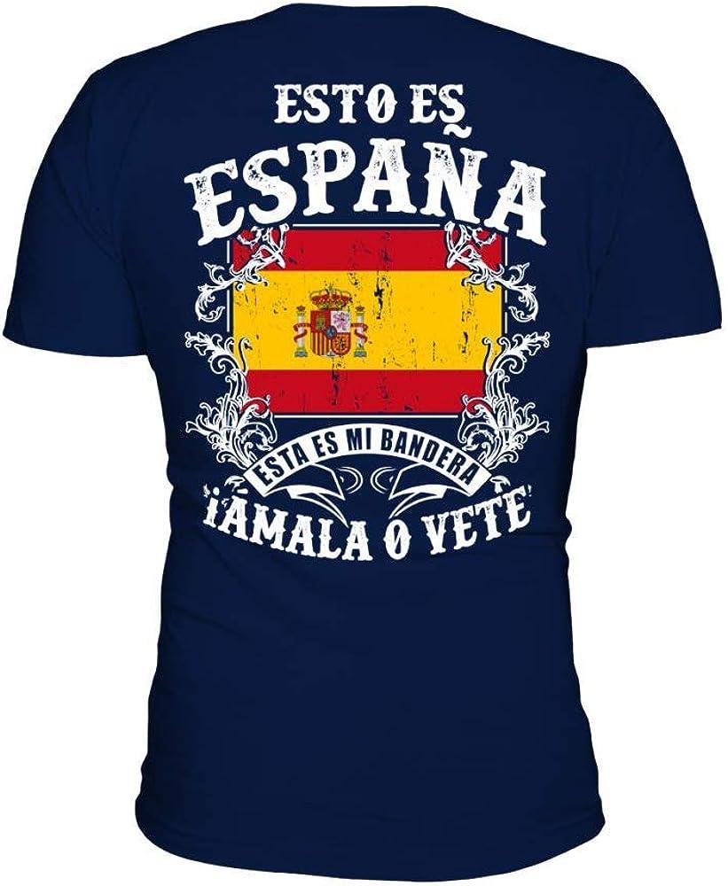 TEEZILY Camiseta Hombre Esto ES ESPAÑA: Amazon.es: Ropa y accesorios