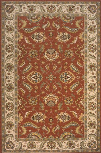Momeni Rugs PERGAPG-10SAL2680 Persian Garden Collection, 100% New Zealand Wool Traditional Area Rug, 2'6