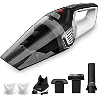 Homasy Portable Handheld Vacuum Cleaner Cordless, 8000Pa Powerful Cyclonic Suction…