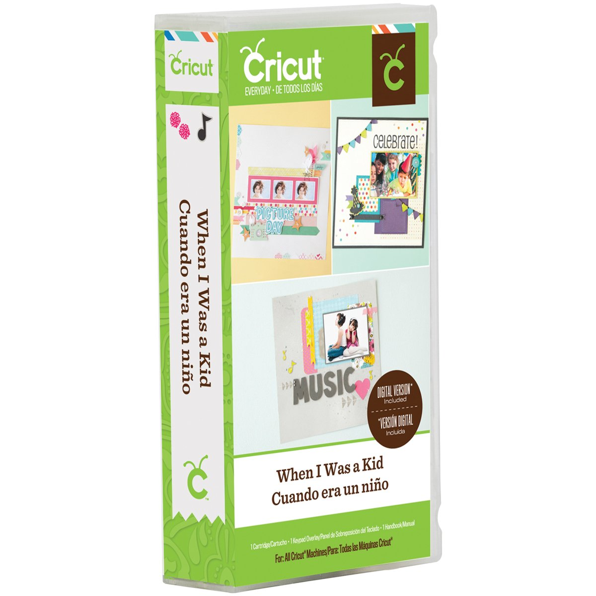 Cricut When I Was A Kid Cartridge product image