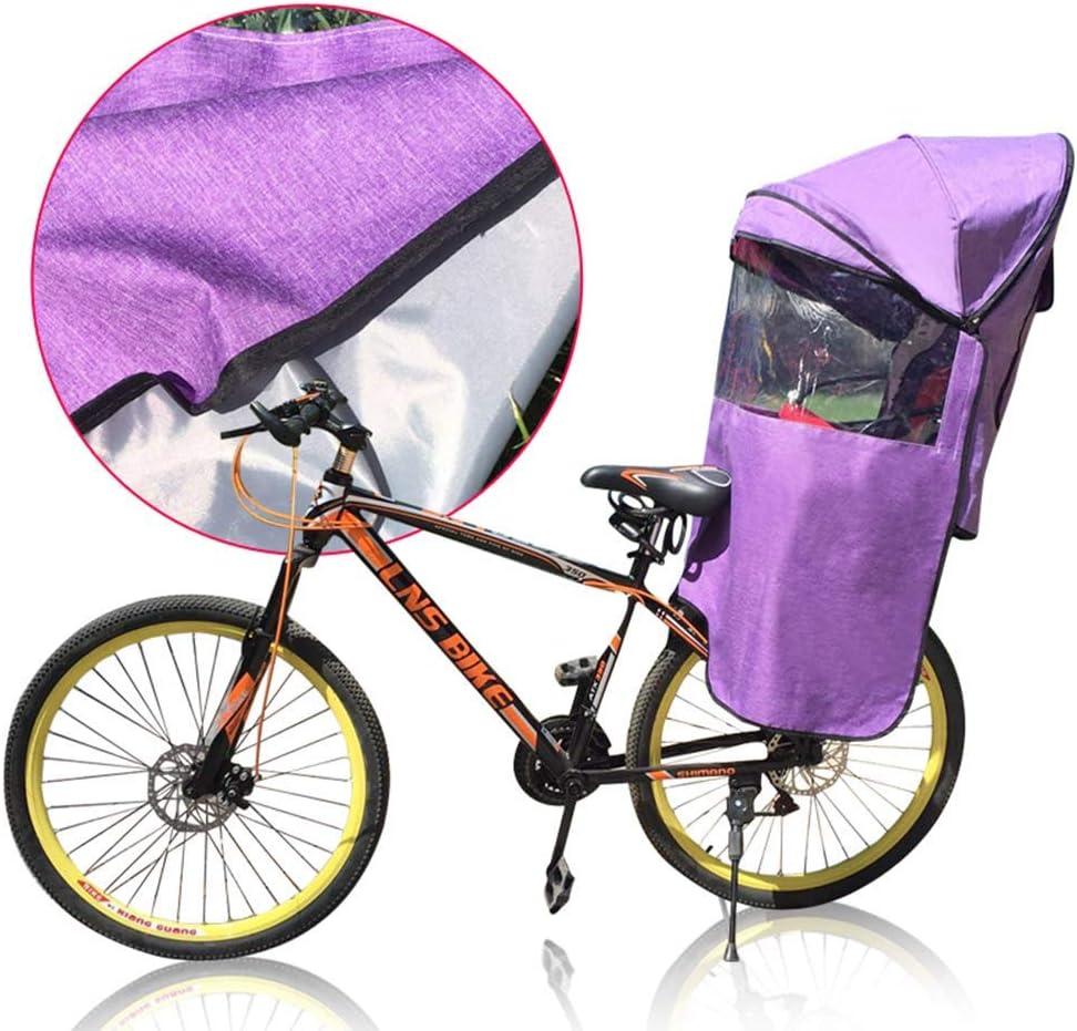 wasserdichte Faltbare Sonnenschutz-Regenschutz-Sonnenschutz und Verdunkelungsabdeckung Four Seasons Universal GLJY Fahrrad-Kindersitz-/Überdachung