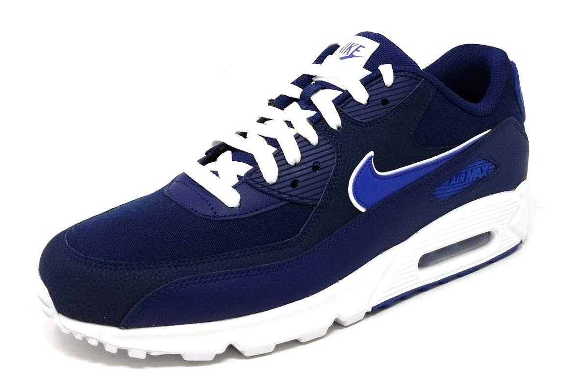low priced 4918d 5412e Galleon - Nike Air Max 90 Essential Men s Shoes Blue Void Game Royal White  Aj1285-401 (11 D(M) US)