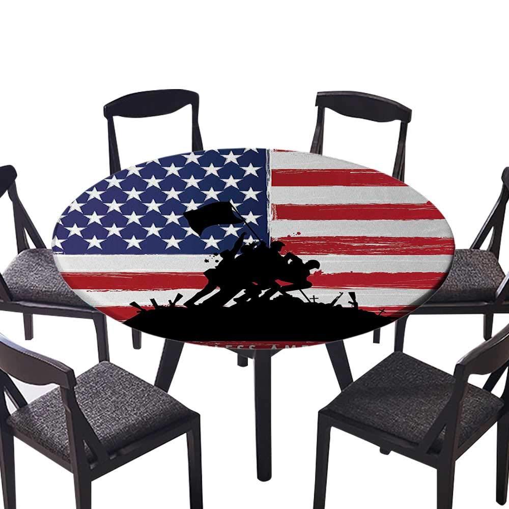 お手入れが簡単な布製テーブルクロス メリーランド州旗 クローズアップ写真 揺れるアメリカン 自宅 パーティー ウェディング (エラスティックエッジ) 55