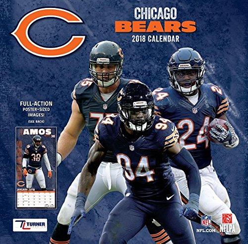 Chicago Bears 2018 Calendar