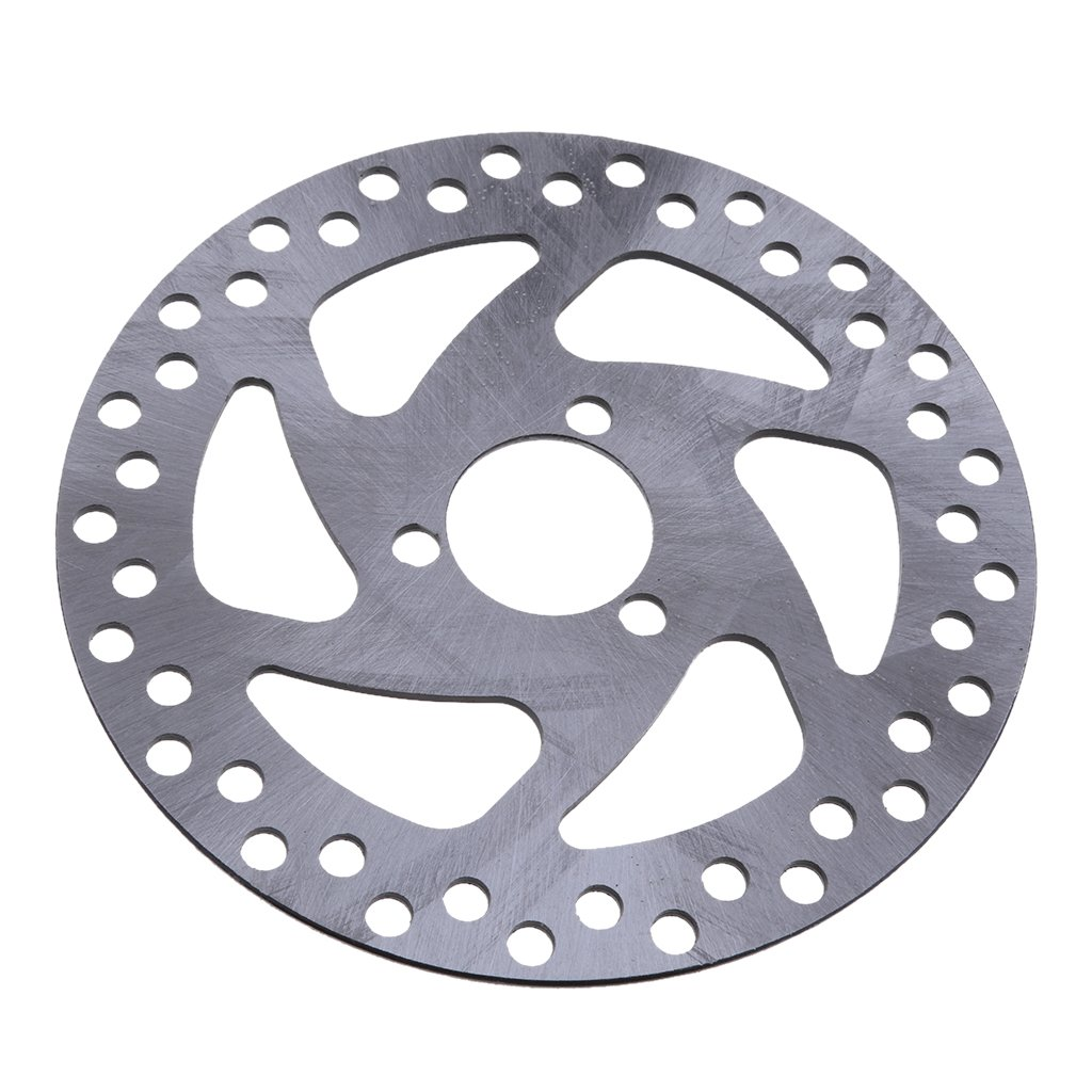 perfk 1 Pezzo Disco Freno Anteriore a Disco per Resistente Sporcizia in Metallo