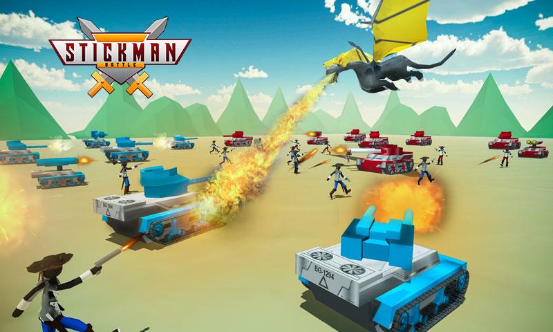 Stickman Battle Simulator - Stickman Warriors: Amazon.es ...