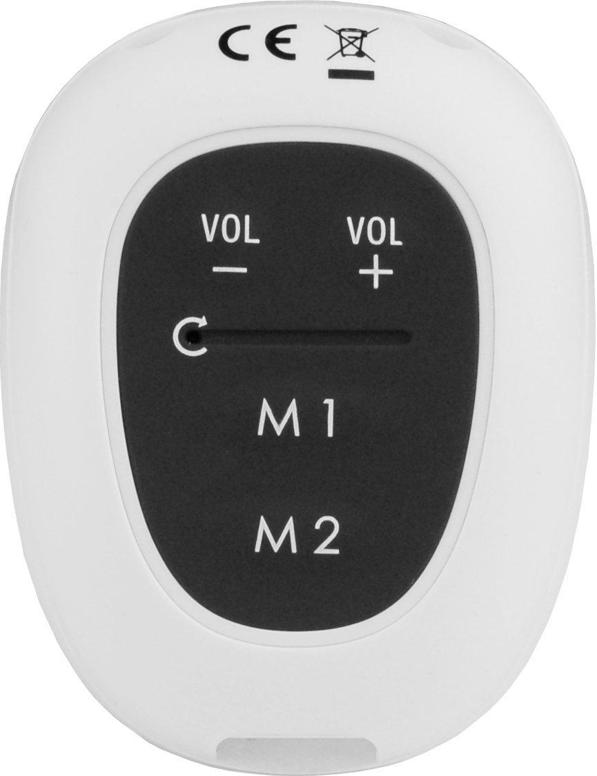 Geemarc AmpliDECT 295 SOS PRO schnurloses Gro/ßtastentelefon mit mobiler Freisprecheinrichtung +Anrufbeantworter+ - Deutsche Version