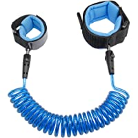Anti Lost Wrist Link 2.5M Safety Wrist Link for Toddlers, Children & Kids (Blue) by Blisstime