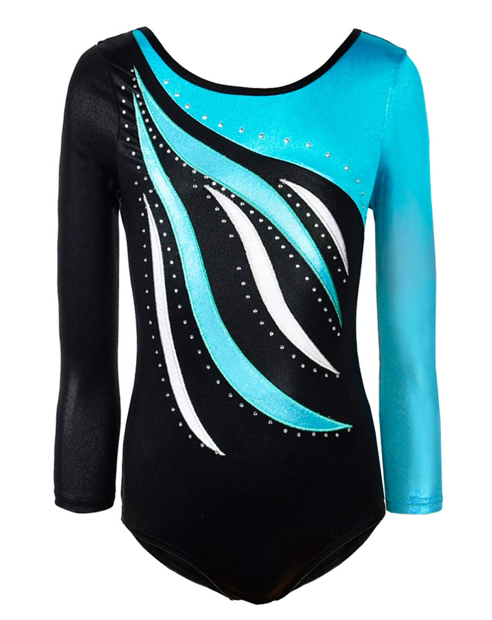 Girls Universal long sleeved leotard ALL SIZES dance gymnastics MADE IN THE UK