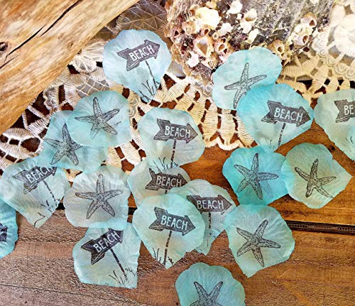 Beach Wedding Table Decorations, Beach Party Confetti