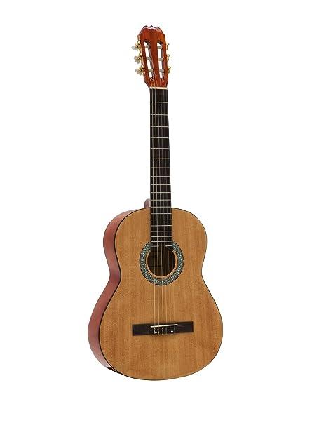 Guitarra clásica STILO con bolsa para guitarras, 4/4, color ...