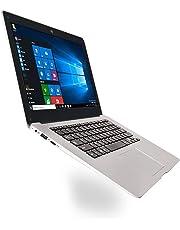 Dailyinshop Ultra-Sottile Notebook PC da 14,1 Pollici Netbook 1366 * 768P Pixel Display da 2 GB + 32 GB,Bianca