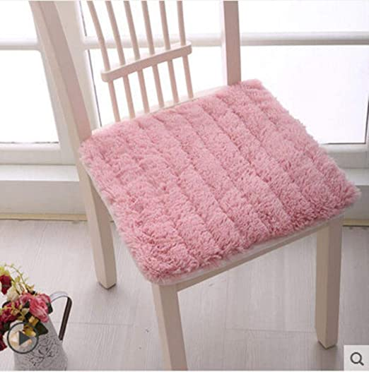 YIIVAN 1pcs Winter Thick Plush Chair Cojín Cojín de Tela ...