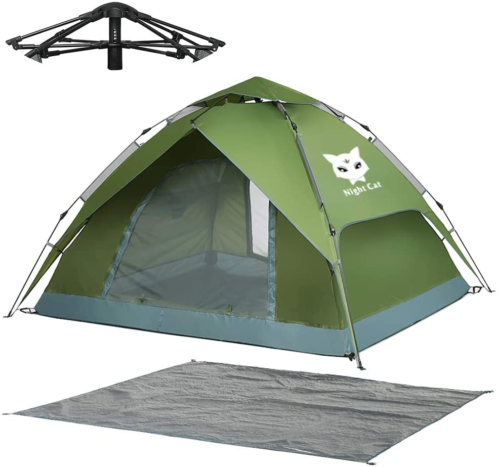 Night Cat Waterproof Camping Tent