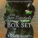 The Jane Barnaby Adventures Box Set Audiobook by J. J. DiBenedetto Narrated by Cait Frizzell