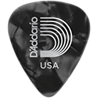 Planet Waves Black Pearl Celluloid Guitar Picks, 10 pack, Extra Heavy